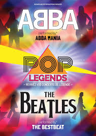 Pop legends Abba & The Beatles